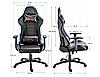 Кресло геймерское игровое   F4G FG32 BLUE, фото 3