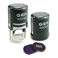 Изготовление печати d 40 mm на автоматической оснастке GRM