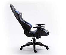 Кресло геймерское игровое  F4G FG40 HQ СИНИЙ, фото 3
