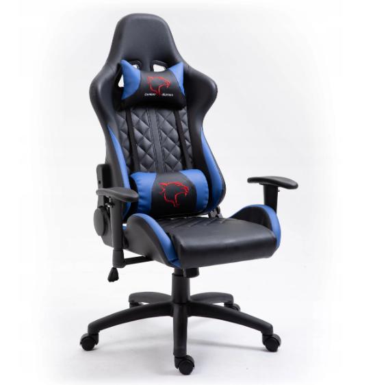 Кресло геймерское игровое  F4G FG40 HQ СИНИЙ