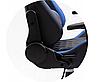Кресло геймерское игровое  F4G FG40 HQ СИНИЙ, фото 4