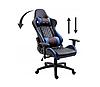 Кресло геймерское игровое  F4G FG40 HQ СИНИЙ, фото 6