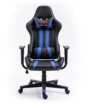 Кресло геймерское игровое  F4G FG33 BLUE, фото 3