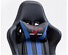Кресло геймерское игровое  F4G FG33 BLUE, фото 4