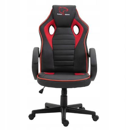 Кресло геймерское игровое  F4G FG21, черное и красное, фото 2