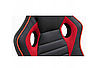Кресло геймерское игровое  F4G FG21, черное и красное, фото 4