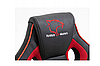 Кресло геймерское игровое  F4G FG21, черное и красное, фото 3