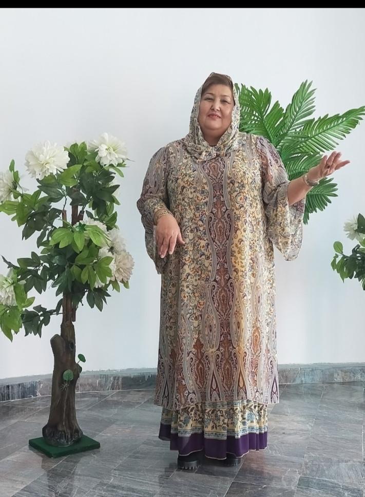 Шифоновое платье Асьма - фото 1