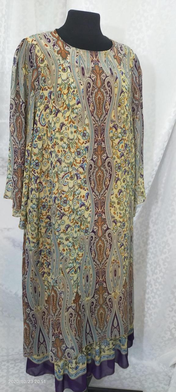 Шифоновое платье Асьма - фото 2