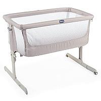 Кроватка-манеж Next2Me Air Dark Beige 0м+ Chicco
