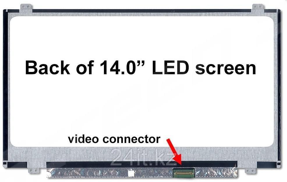 "ЖК экран для ноутбука 14""  BOE, NT140WHM-N47, 40 пин, 1366x768 HD, LED (либо аналог)"