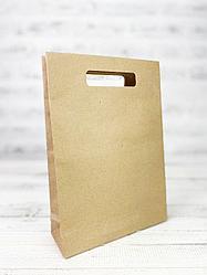 Бумажный крафт-пакет.