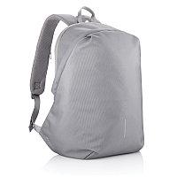 Антикражный рюкзак Bobby Soft, серый, Длина 30 см., ширина 18 см., высота 45 см., P705.792