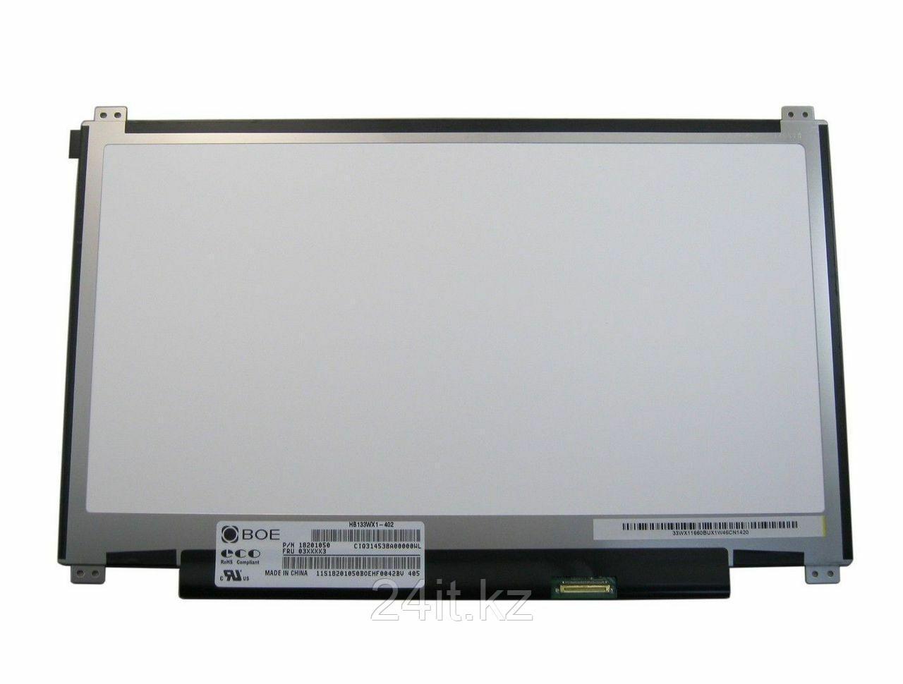 """ЖК экран для ноутбука 13.3"""" BOE, HB133WX1-402, 1366x768 WXGA HD, LED (либо аналогичная)"""