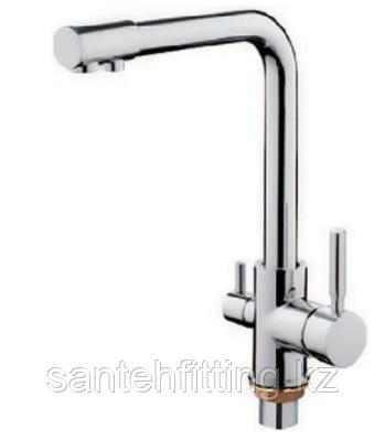 ZERIX LR4055-3 Смеситель для кухни с выходом для питьевой воды (10 шт/ящ)
