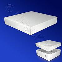 Kazakhstan Пицца-коробка 25х25х5см бел 200шт/уп КРЫШКА