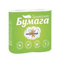 """Бумага туалетная """"Мягкий знак Comfort"""" 2-х сл. 4 шт. (буквы), 4 шт"""