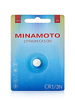 Батарейка литиевая MINAMOTO CR1/3N (CR11108, DL1/3N, 2L76) 3В