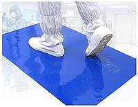 Многослойный антибактериальный липкий коврик 450*1150мм (30 слоёв)