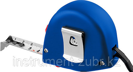 """Рулетка ЗУБР """"СТАНДАРТ"""", корпус с резиновым напылением, 2м/16мм, фото 2"""