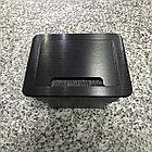 Настольный бокс на 4 модуля, черный (розетка в столешницу), фото 2