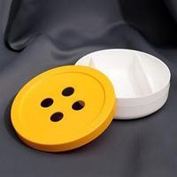 Органайзер для хранения швейных принадлежностей, d  15,5 см, 3 отделения, цвет МИКС