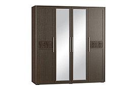 Шкаф для одежды 4Д , коллекции Токио, Венге, MEBEL SERVICE (Украина)
