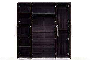 Шкаф для одежды 4Д , коллекции Токио, Венге, MEBEL SERVICE (Украина), фото 2