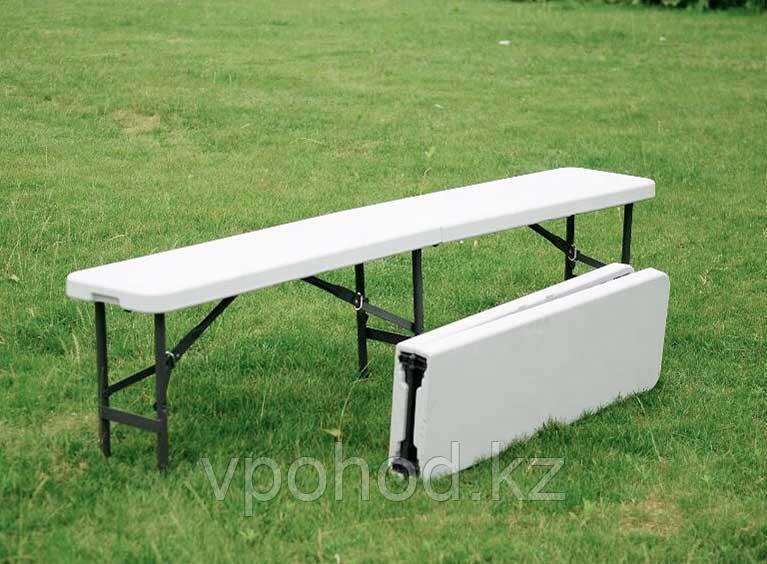 Складная скамейка пластиковая