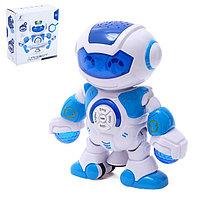 Робот «Весельчак», звуковые эффекты, с проектором