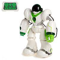 Робот радиоуправляемый «Патрульный», световые и звуковые эффекты, цвет белый