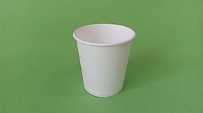 Бумажный стакан белый однослойный, 350 мл (50шт)
