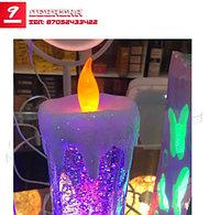 Лава - лампа с блестками.