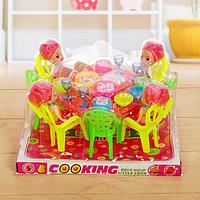 Игрушка набор мебели, с куклами, с аксессуарами, МИКС
