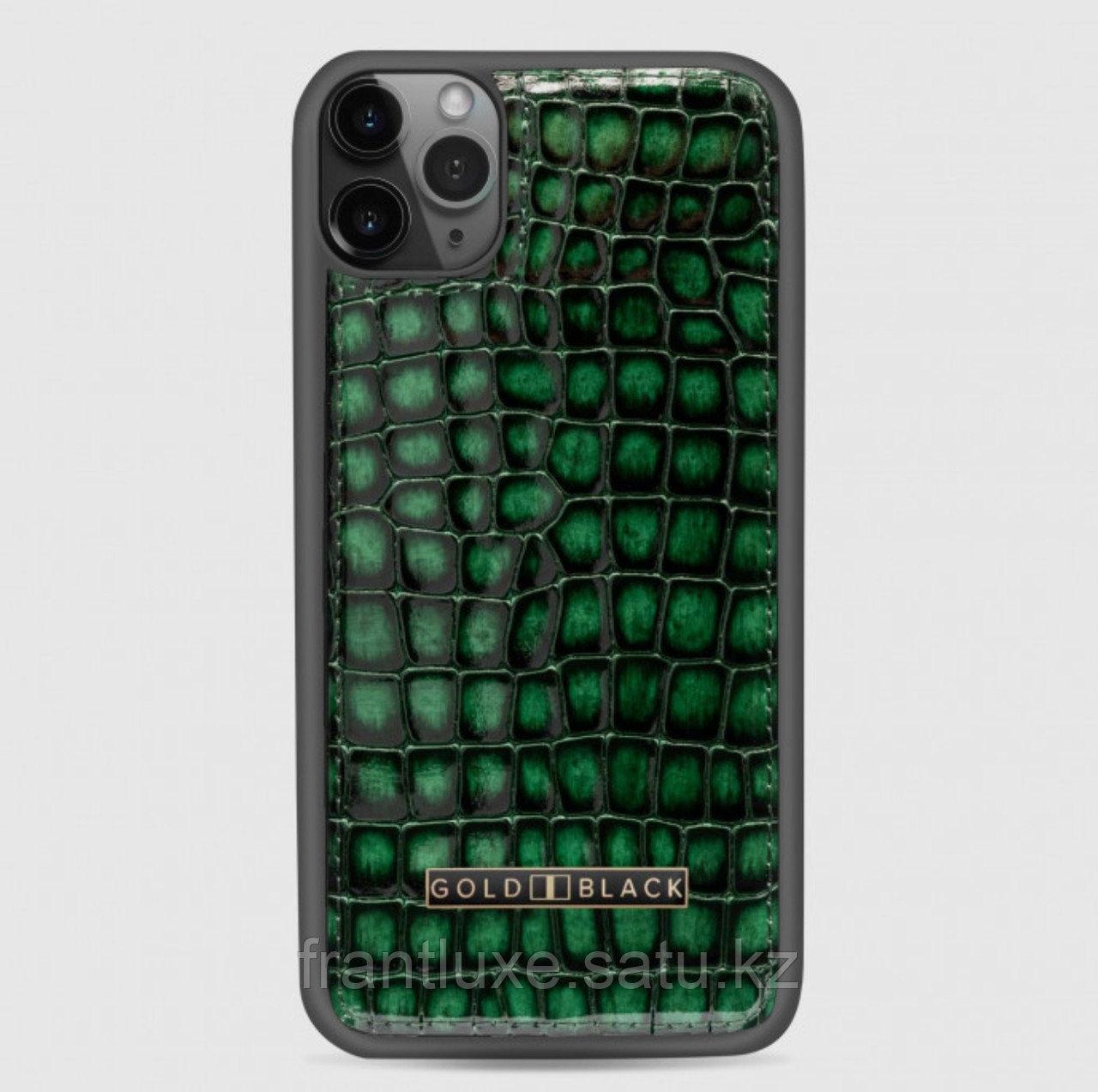Чехол для телефона iPhone 11 Pro Max Green - фото 1