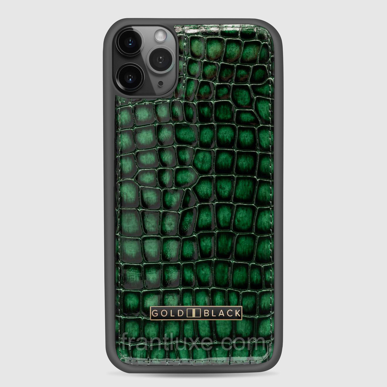 Чехол для телефона iPhone 11 Pro Max Green - фото 8