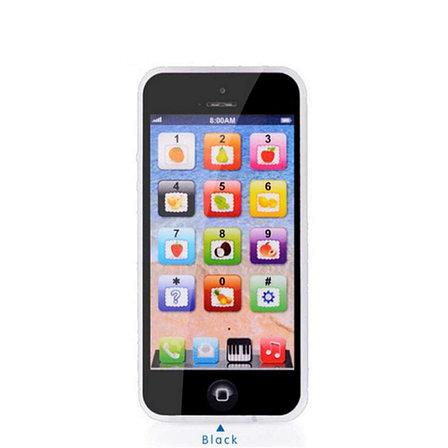 Уценка! Сенсорный детский телефон, цвет черный, фото 2