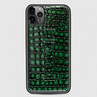 Чехол для телефона iPhone 11 Pro Finger-holder Green