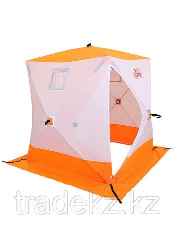 Палатка для зимней рыбалки PF-TW-01 Куб Следопыт 1,5х1,5 OXFORD 240D PU 1000, фото 2