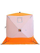 Палатка для зимней рыбалки PF-TW-01 Куб Следопыт 1,5х1,5 OXFORD 240D PU 1000, фото 3