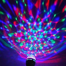 Светодиодная вращающаяся диско лампа Черная Пятница!, фото 2