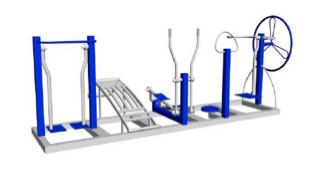 Тренажерный комплекс комбинированный