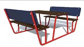 Столик (1,950 м х 1,180 м х 0,800 м)