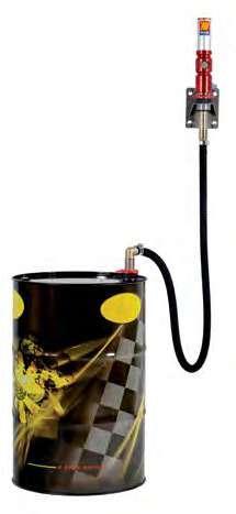 Настенный набор для раздачи масла для бочек Meclube (маслораздатчик) 180-220 л (022-1218-000)