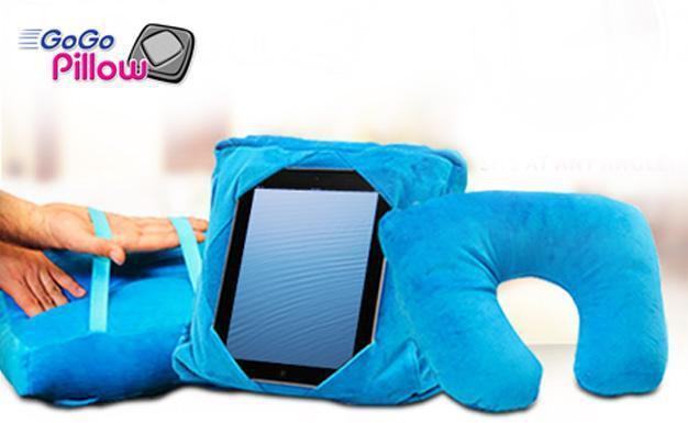 Подушка-подставка для планшетов 3-в-1 Черная Пятница!