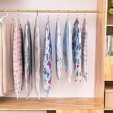 Подвесной чехол на молнии для хранения одежды прозрачный Черная Пятница!, фото 2