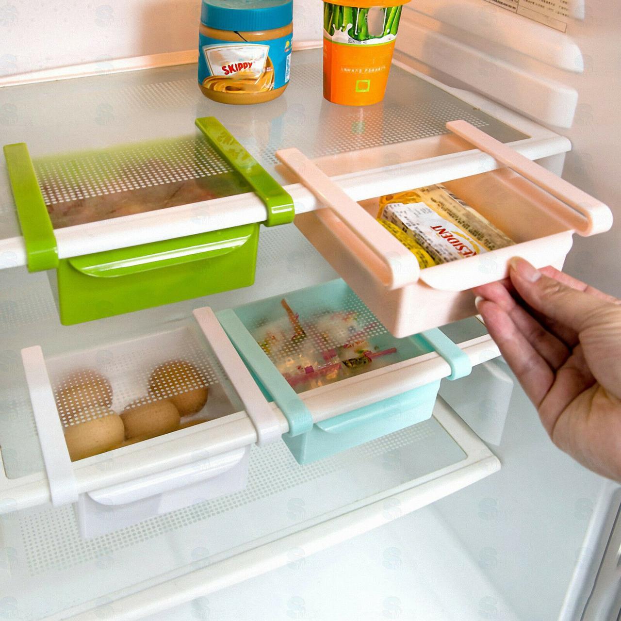 Подвесной органайзер для холодильника, цвет зеленый Черная Пятница!