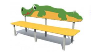 """Скамья детская """"Крокодил"""""""