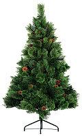 Новогодняя елочка с шишками 120 см