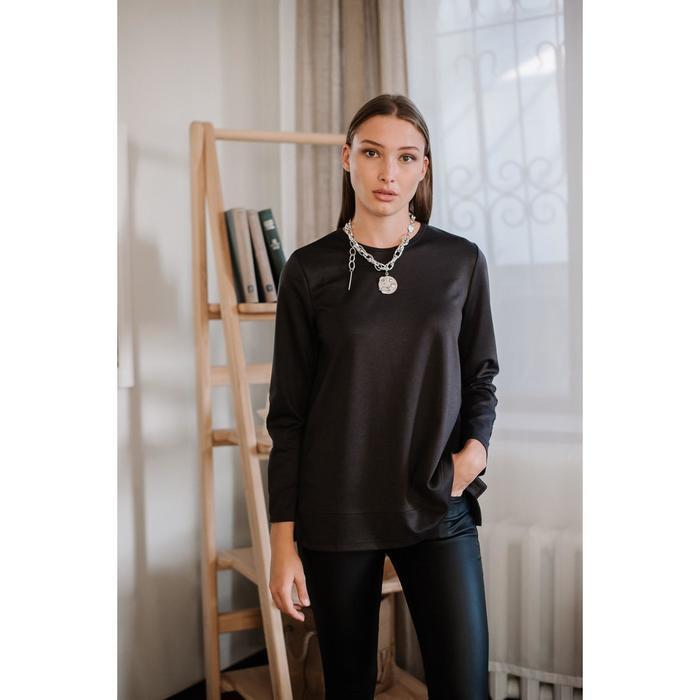 Джемпер, цвет тёмно-серый, размер 54 - фото 1